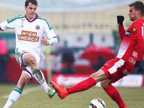 Für Rapid blieb es am Sonntag beim 1:1 gegen die Admira.