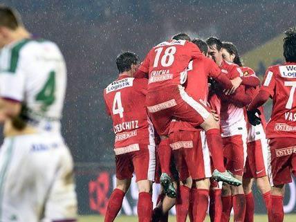 Rapid konnte sich am Sonntag nicht gegen die Admira durchsetzen.