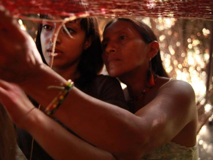 Sarah Begum wurde vom Stamm der Huaroani mit offenen Armen aufgenommen.