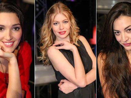Celina Ann, Zoe und Clara Blume treten beim ESC-Vorentscheid an.