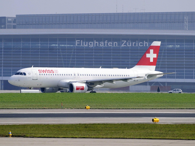 Bombendrohung gegen Swiss-Flieger am Flughafen Zürich