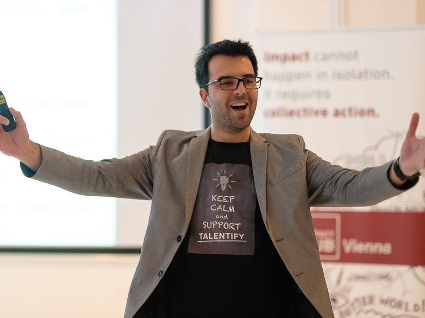 Gründer Bernhard Hoferbeim Social Impact Start 28.02.2014