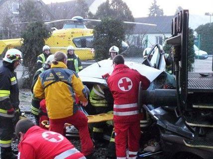 In Niederösterreich ist es am Freitag zu einem schweren Unfall gekommen.
