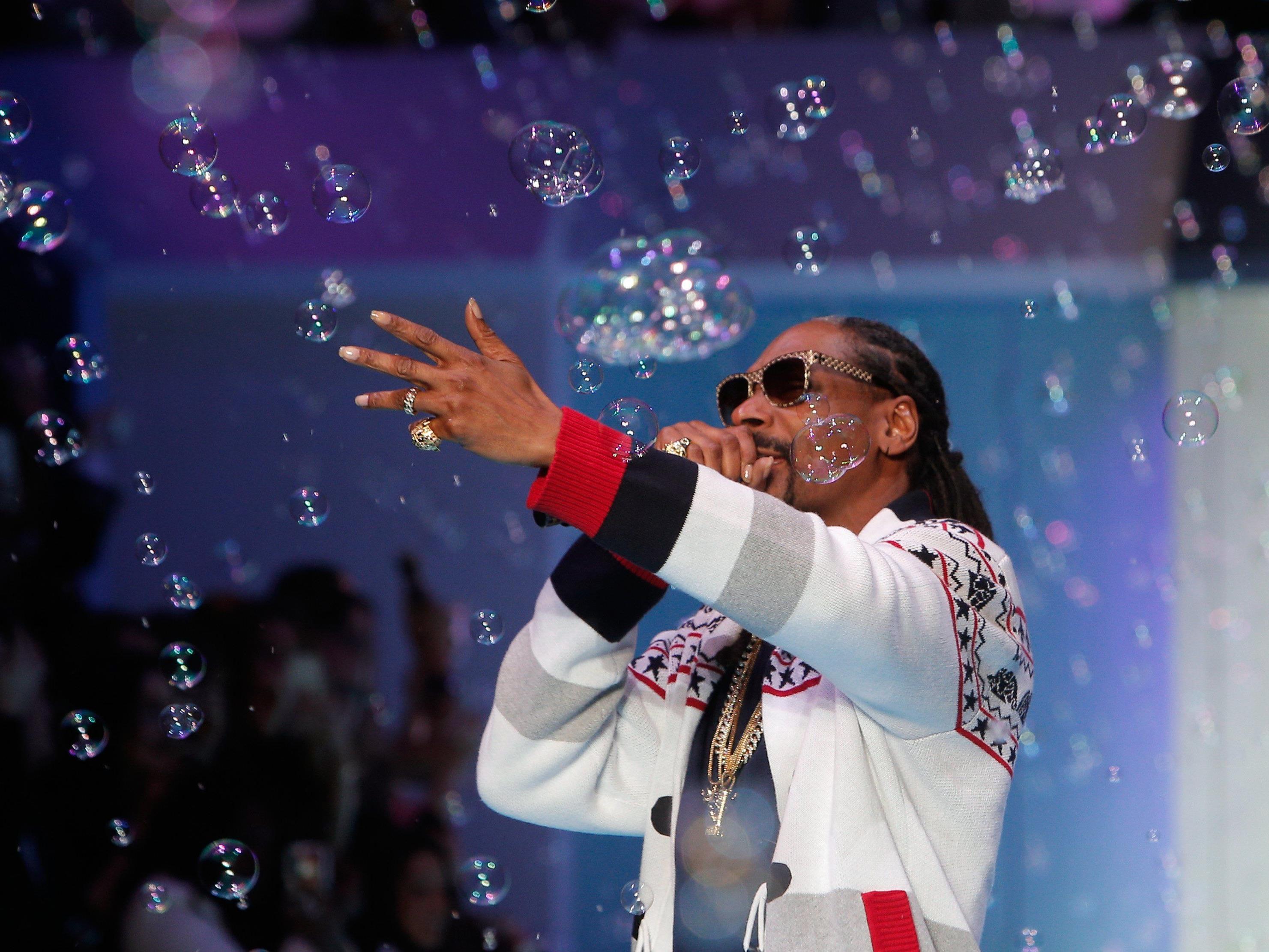 Snoop Dogg gibt amm 22. Juli 2015 ein Wien-Konzert in der Marx Halle.