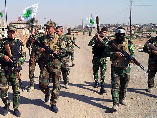 Armee und schiitische Milizen rücken aus fünf Richtungen vor