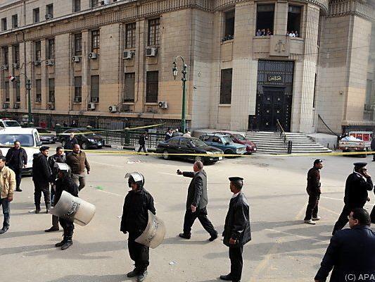 Anschlag in der Nähe des Obersten Gerichtshofes