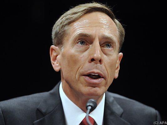 Petraeus war nur ein Jahr CIA-Direktor