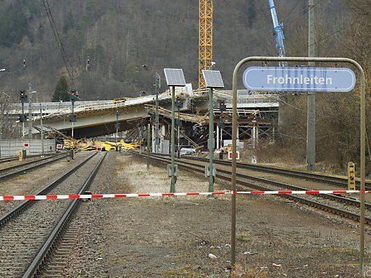 Brücke war am 21. Februar eingestürzt