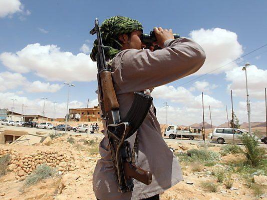 Derzeit Kriegswirren in Libyen