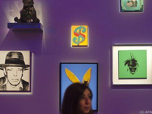 Andy Warhols Werke sind besonders gefragt
