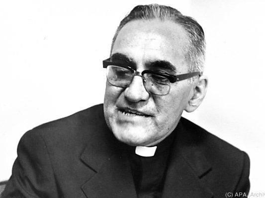 Erzbischof Romero wurde 1980 ermordet