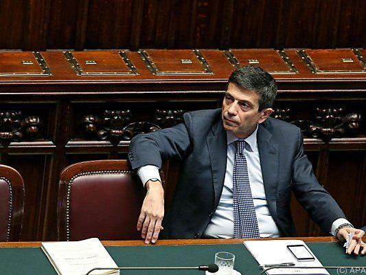 "Lupi will mit Rücktritt ""Regierung stärken"""