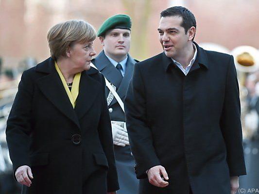 Deutsch-griechisches Spitzentreffen in Berlin