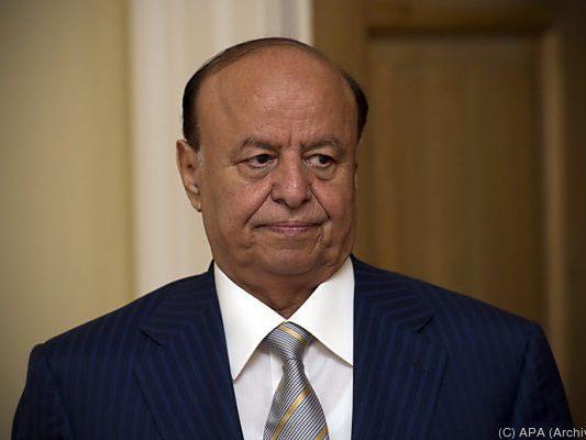 Auch Abed Rabbo Mansur Hadi wird erwartet