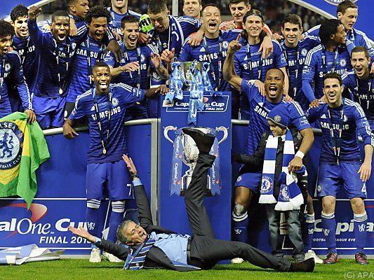 Jose Mourinho in seinem Element
