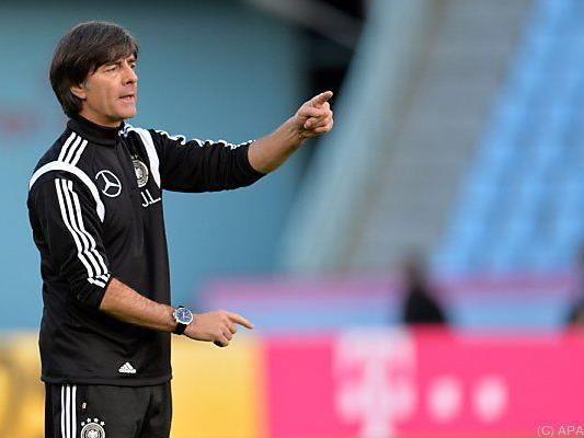 Der Weltmeister-Trainer hat Spaß an seiner Arbeit