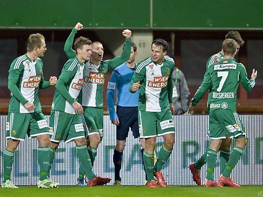 Rapid Wien punktete mit 1:0 gegen Altach - Konkurrenz patzte