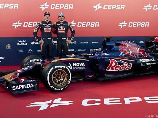 Toro Rossos Fahrerduo ist insgesamt 37 Jahre alt