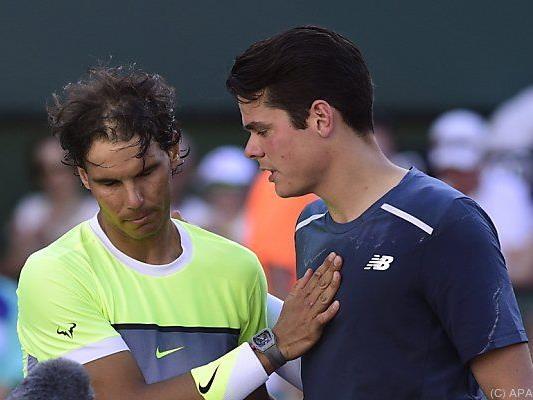 Raonic kämpfte Nadal nieder