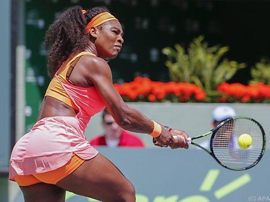 Für Serena war es der 18. Sieg in Folge