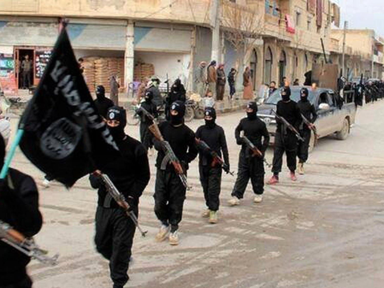 Über der IS-Hochburg Raqqa war das US-Militär 60.000 Flugblätter ab.