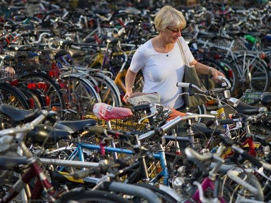 2014 wurden mehr Fahrräder gestohlen.