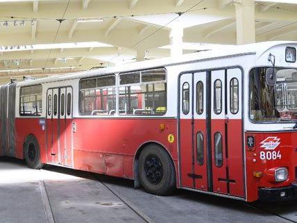 Ab 15. März können sich Museumsbesucher mit einem Oldtimer-Shuttlebus in die Remise nach Erdberg chauffieren lassen.