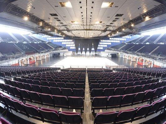 Die Stadthalle wird der Veranstaltungsort des Großereignisses.