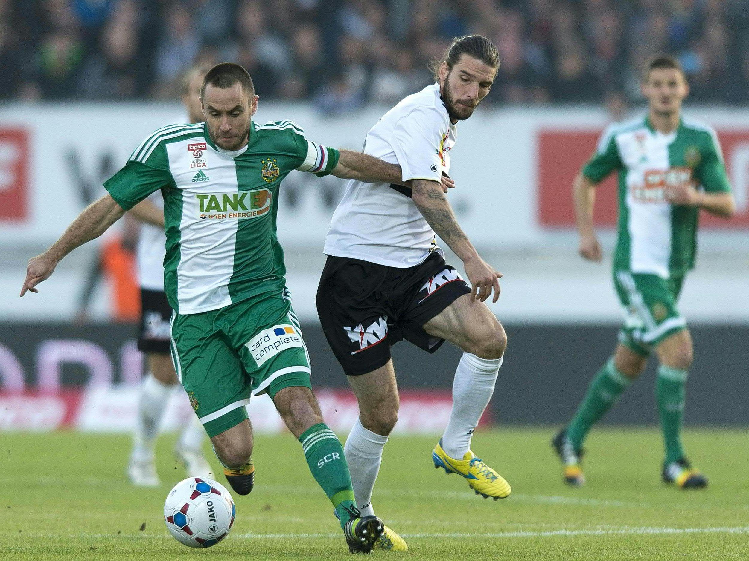 LIVE-Ticker zum Spiel SK Rapid Wien gegen SCR Altach ab 19.00 Uhr.