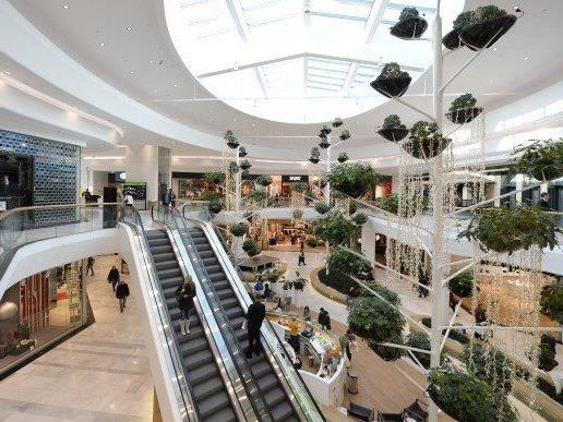 Mit neuen Shops und nach Umbau erstrahlt die Shopping City Süd in neuem Glanz