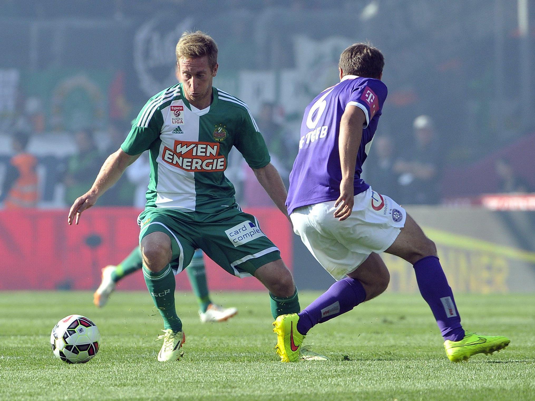 LIVE-Ticker zum Wiener Derby zwischen FK Austria Wien und SK Rapid Wien am Sonntag ab 16.30 Uhr.