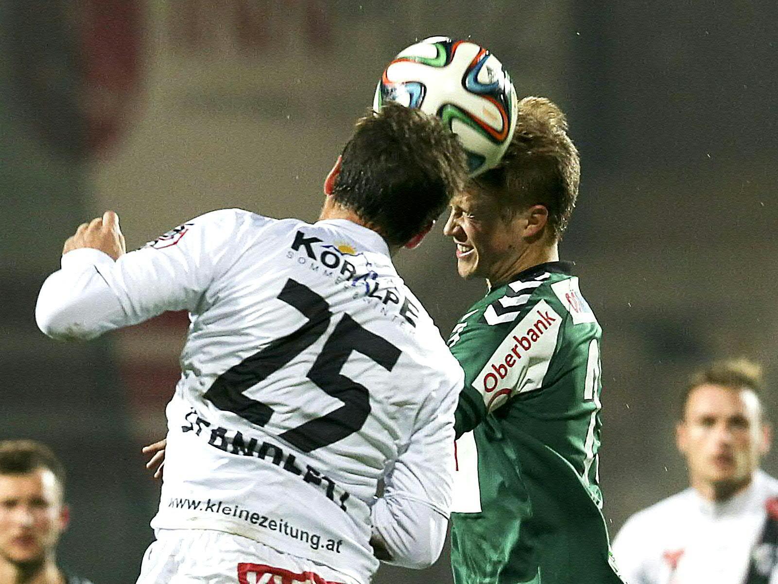 LIVE-Ticker zum Spiel WAC gegen SV Ried ab 19.00 Uhr.