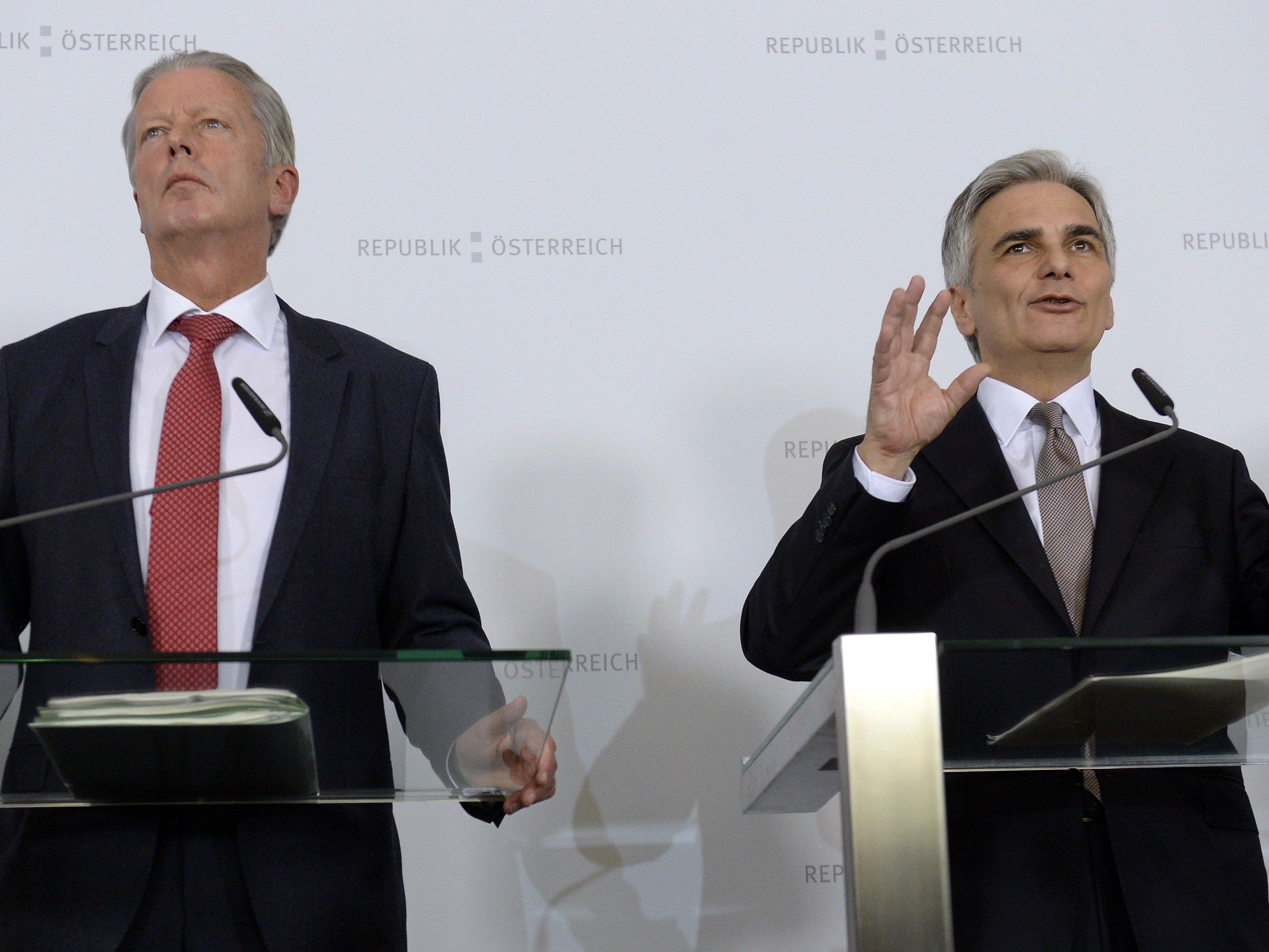 Die Regierung möchte die Konjunktur in Österreich in Schwung bringen.
