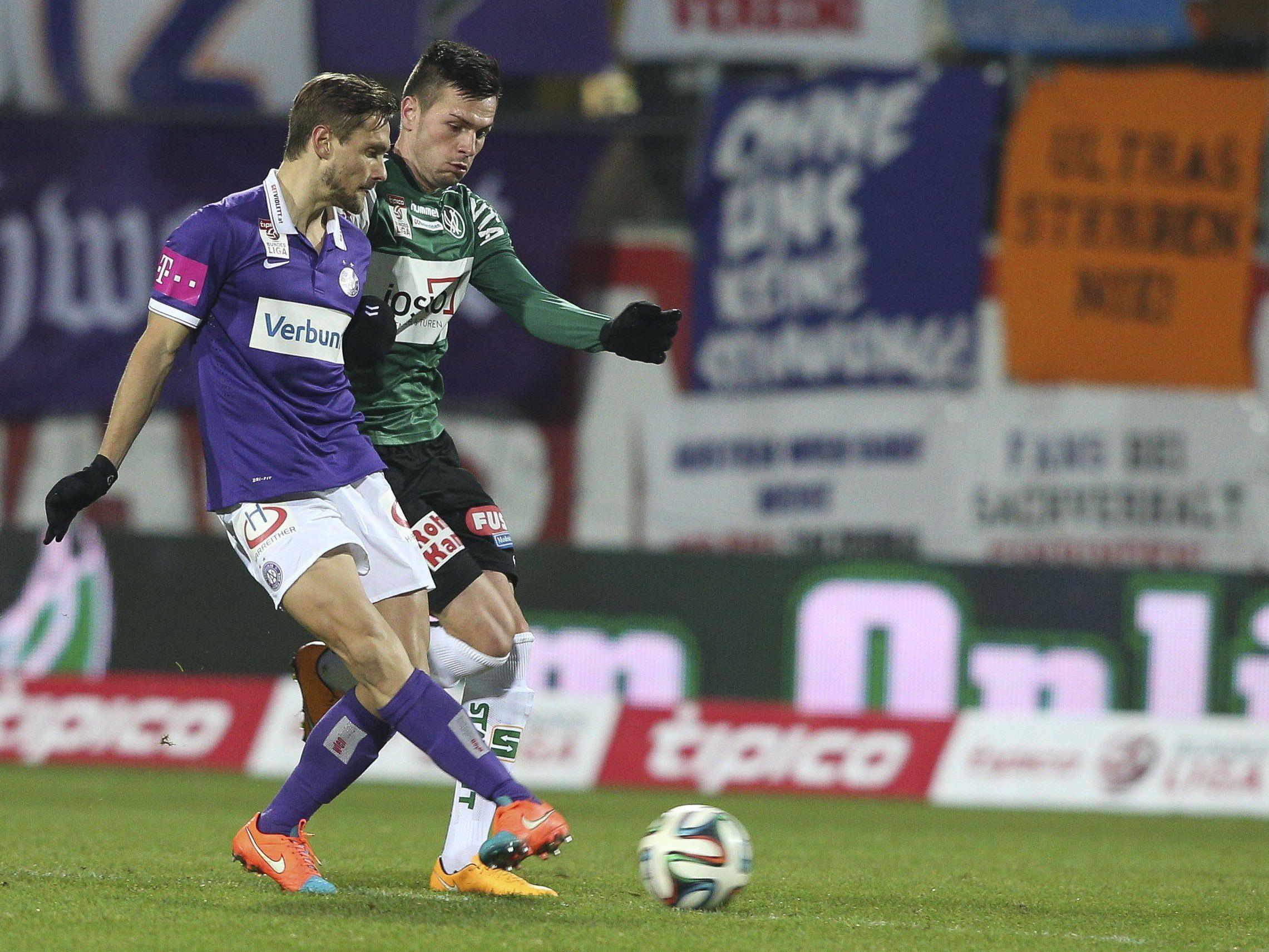 LIVE-Ticker zum Spiel FK Austria Wien gegen SV Ried ab 16.00 Uhr.