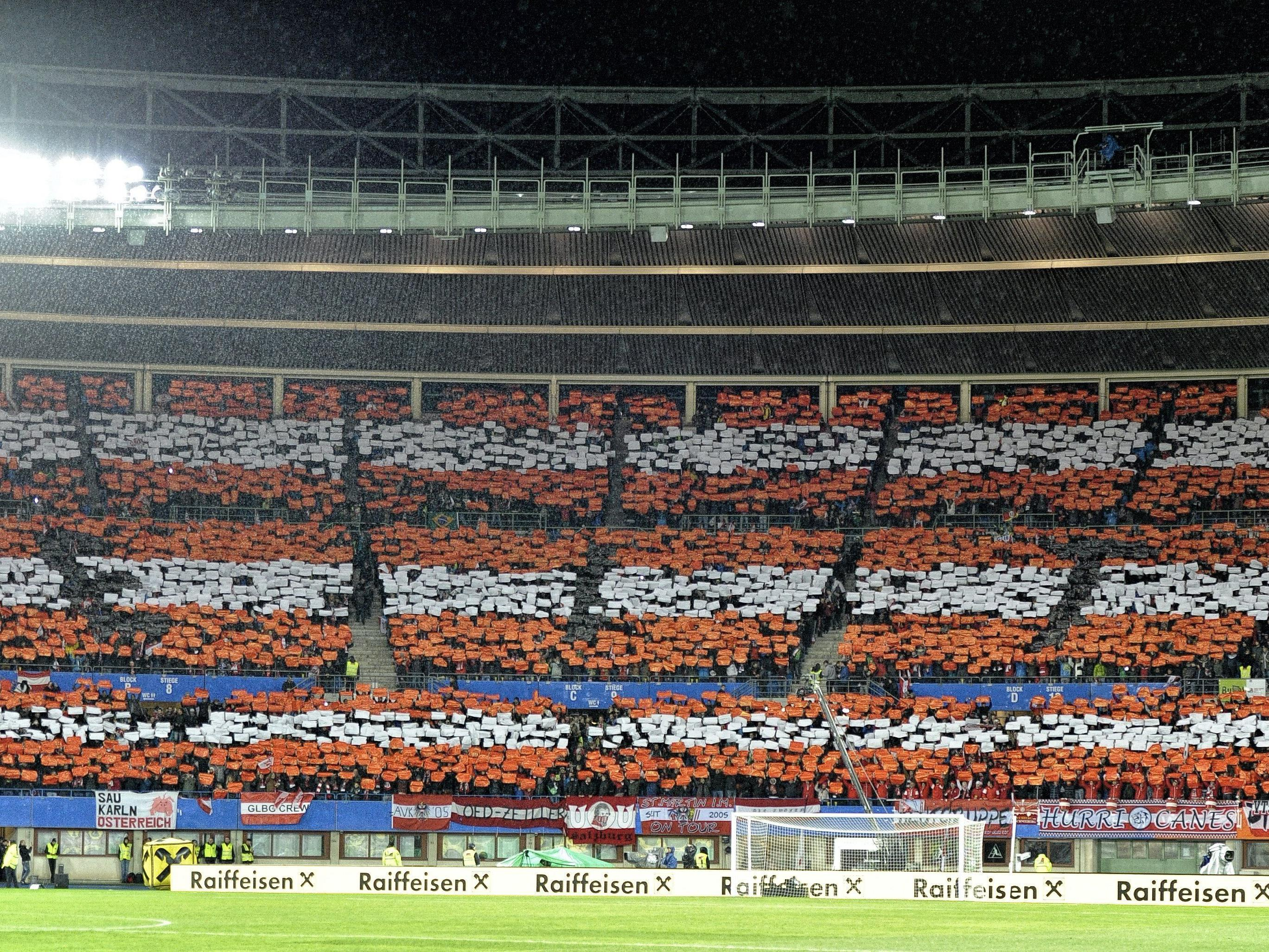 Rund um das Ernst-Happel-Stadion wird vor dem Freundschaftsspiel zwischen Österreich und Bosnien mit Stau gerechent.
