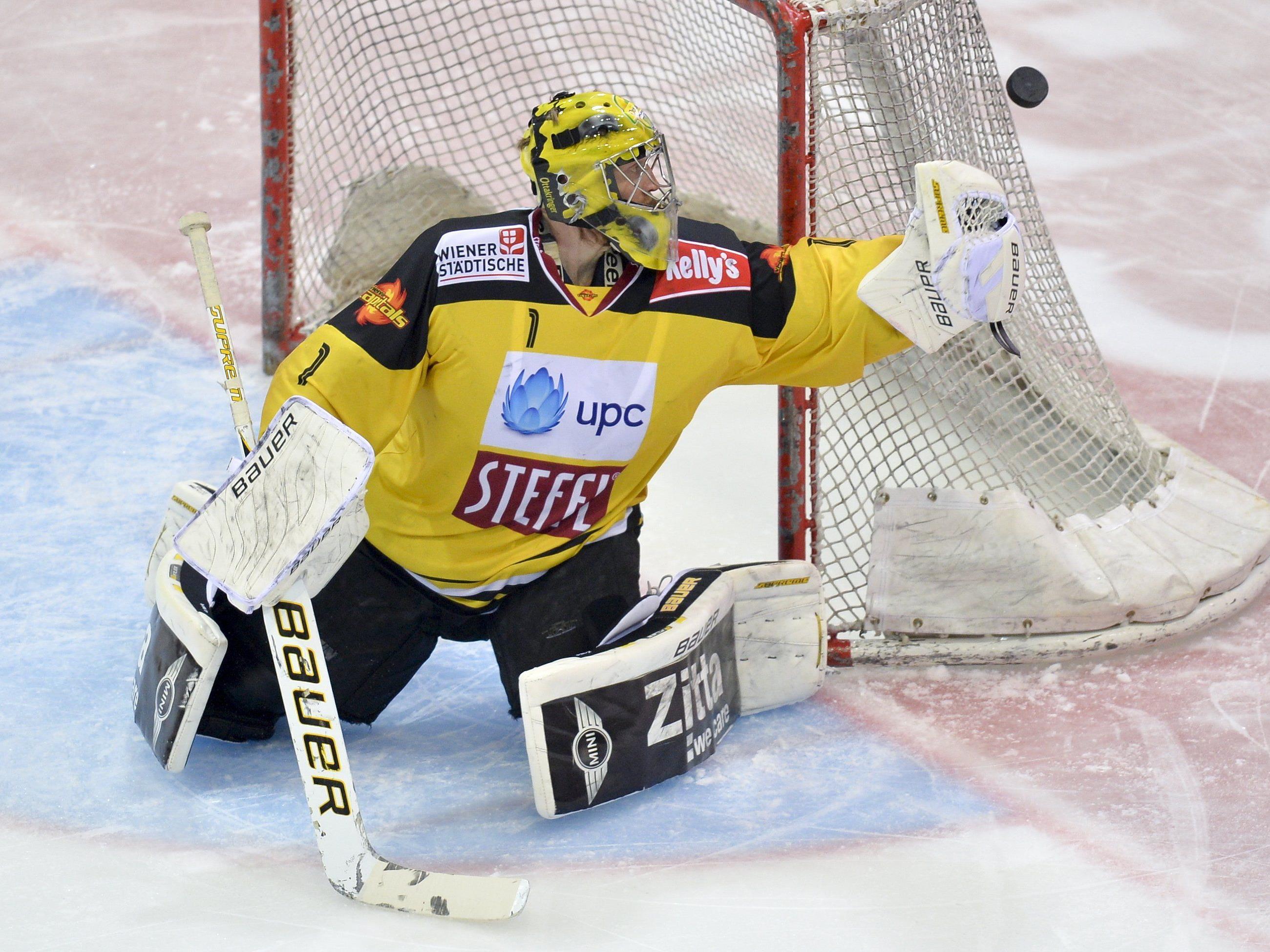 Ein last-Minute-Sieg katapultiert die Vienna Capitals ins EBEL-Halbfinale.