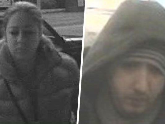 Diese beiden Verdächtigen werden von der Wiener Polizei gesucht.