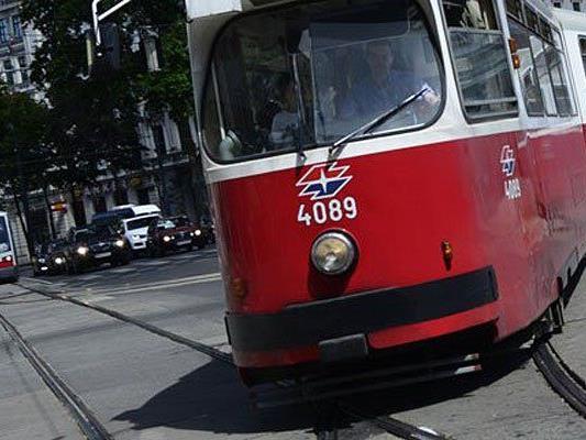 In Wien kam es zu zwei Unfällen mit Straßenbahnen