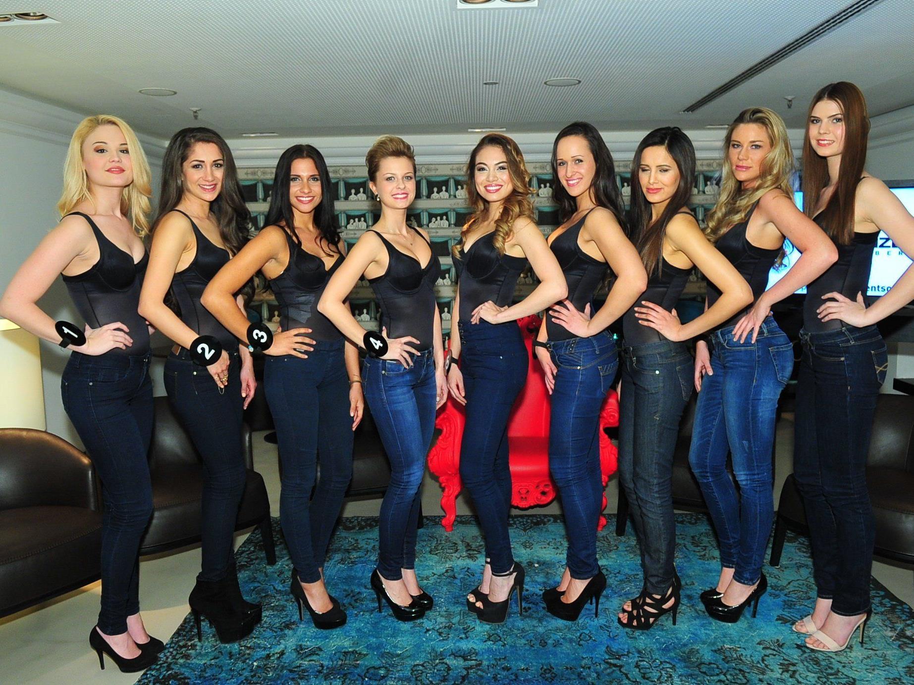 Das sind die 9 Finalistinnen für die Miss Vienna Wahl 2015.