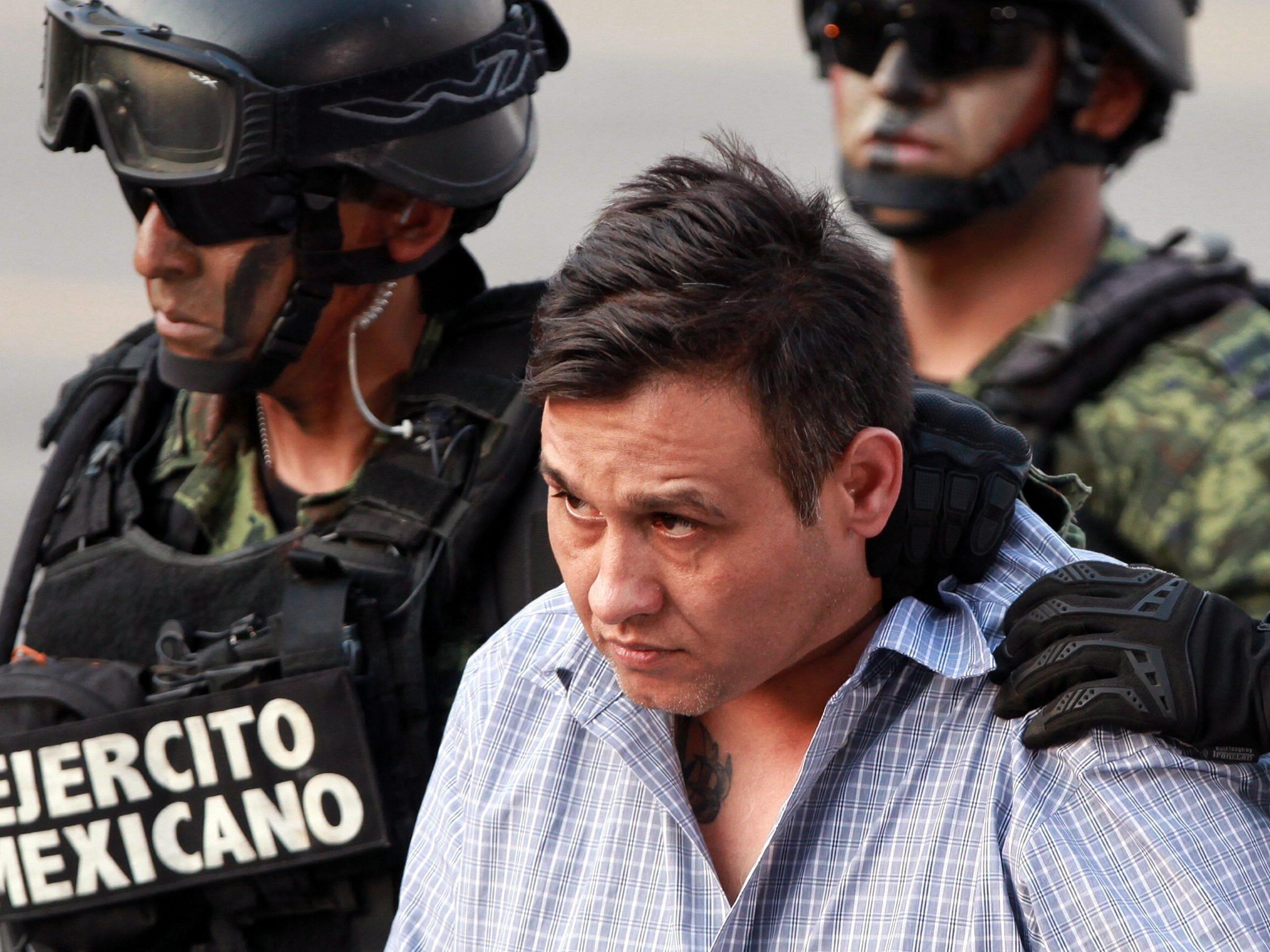 """Anführer des mexikanischen Drogenkartells """"Los Zetas"""" gefasst."""