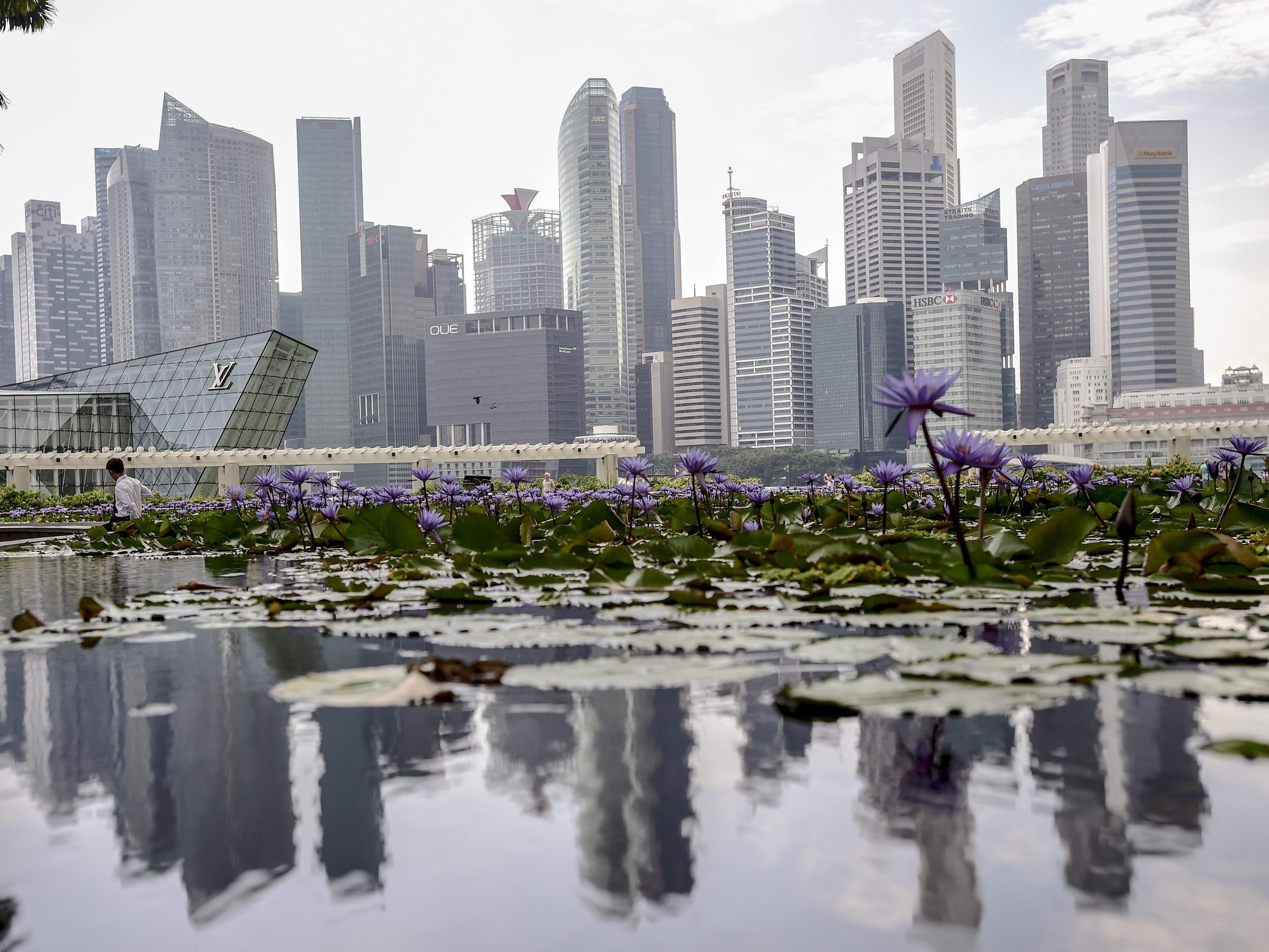 Zwei Deutsche wurden in Singapur zu Stockschlägen verurteilt.