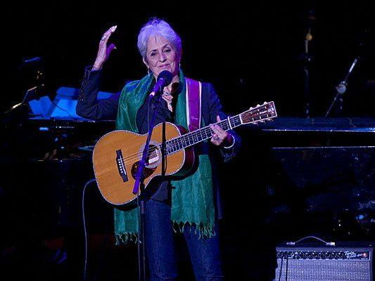 Joan Baez kommt im Juli für zwei Konzerte nach Österreich