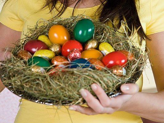 Ostereier lassen sich auf ganz natürliche Weise färben