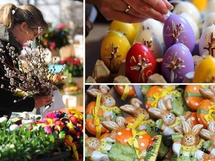 Ein vielseitiges Angebot wartet auch 2015 bei den Östermärkten in Wien