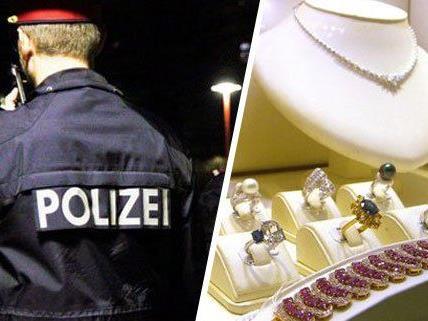 Die Polizei machte einen Juwelierräuber nach kurzer Zeit dingfest