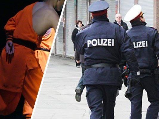 """Ein """"Shaolin-Mönch"""" hielt die Polizei in Atem"""