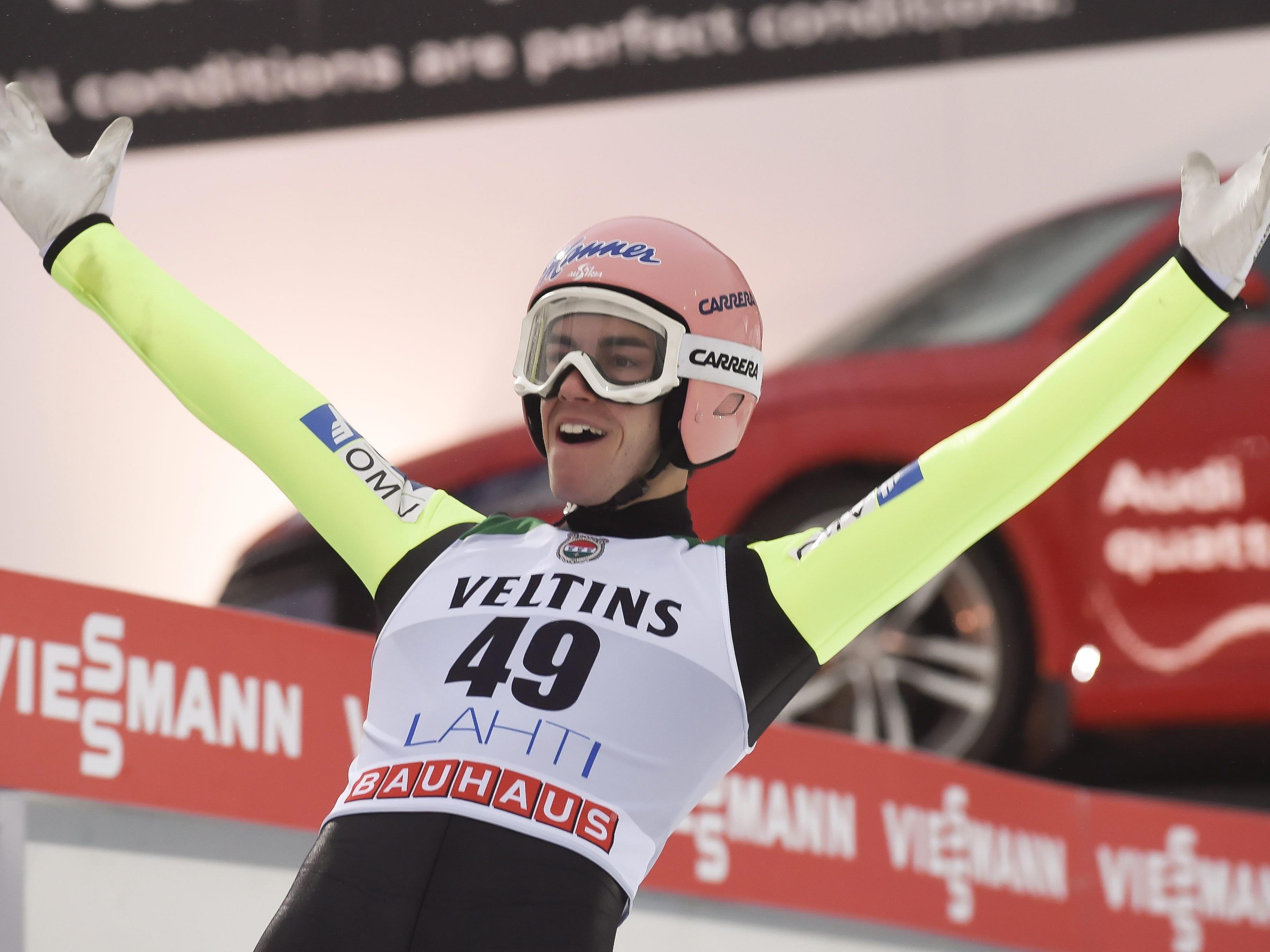 Salzburger Kraft holte in Finnland dritten Weltcuperfolg.