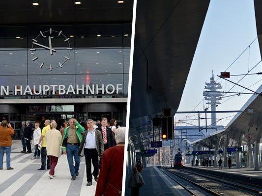 Wir haben die schönsten Bilder von Wiens Bahnhöfen gesammelt.