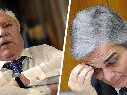 Inserate - Häupl lässt Faymann mit Reduktions-Vorschlag abblitzen