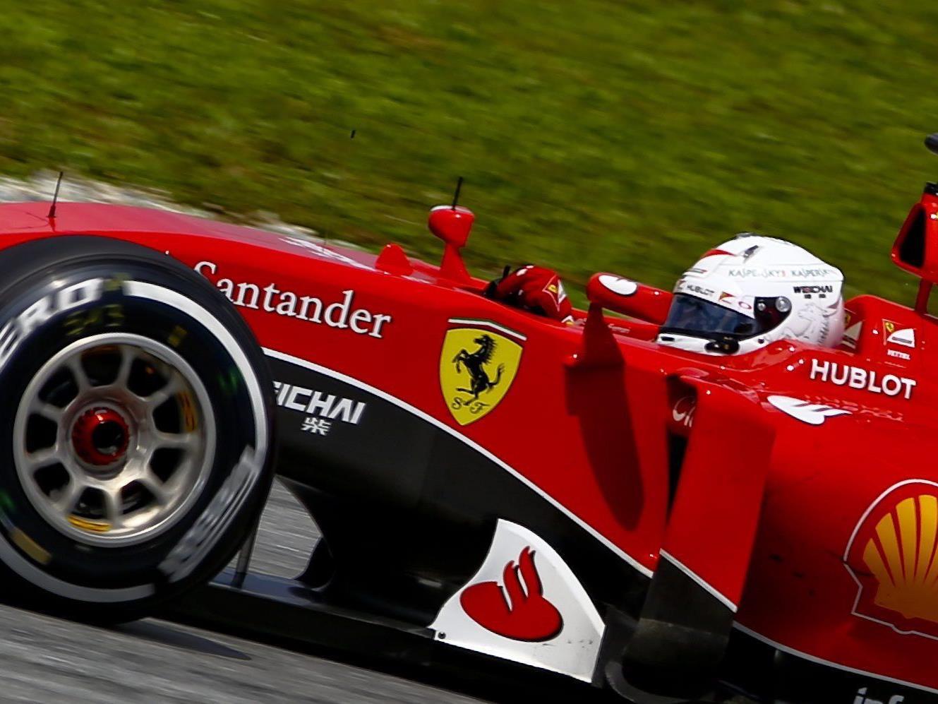 Vettel siegt in seinem zweiten Rennen für Ferrari.